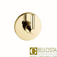 Встраиваемый переключатель на три положения Bellosta Life 71-0503/3/1 Матовое Золото