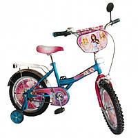 "Велосипед Tilly 16"" BT-CB-0021 ""Барби"""