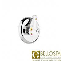 """Встраиваемый вентиль 3/4"""" для быстрого потока Bellosta Joconde 01-4040 Хром"""