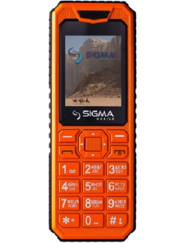 Sigma mobile X-Style 11 Dragon all orange