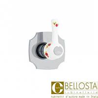 """Встраиваемый вентиль 1"""" для быстрого потока Bellosta Joconde 01-4040/1/K Хром"""