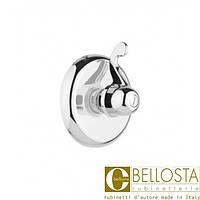 """Встроенный запорный вентиль 3/4"""", быстрого потока Bellosta Pascal 01-1040 Хром"""