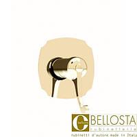 Встраиваемый смеситель для душа, без душевого комплекта Bellosta Pascal **-1021/K Золото, Матовое Золото