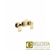 Встраиваемый смеситель для ванны/душа, без душевого комплекта, без излива Bellosta Paloma **-6000/3 Золото