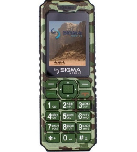 Sigma mobile X-Style 11 Dragon green camouflage