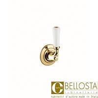 Встраиваемый переключатель на два положения Bellosta Edward **-0803/2/1 Золото, Зеленная Медь
