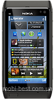 Китайский Nokia N8, 2 SIM, Java, FM-радио. Металлический корпус., фото 1