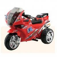 Мотоцикл ZP 2131-3.,мотор 18W, 6V/4,5A, 3км/ч, 3-8лет, красный.,92-59-52см
