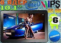 Мощный планшет Insignia, INTEL 8 ядер, 10.1'', 32 Gb , IPS, GPS + гарантия