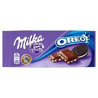 Шоколад Милка OREO молочный 100 гр