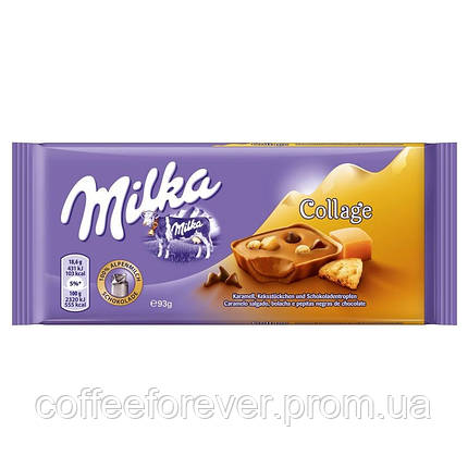 Шоколад Милка Collage молочный 100 гр, фото 2