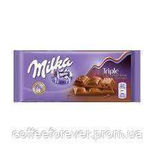 Шоколад Милка Triple Choco Cocoa молочный 100 гр, фото 2
