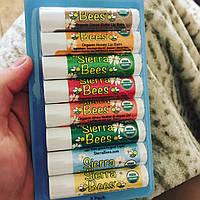 Гигиенические помады бальзамы для губ 8 ароматов америка поштучно