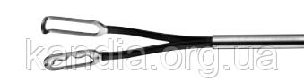 Биполярный плоский электрод - пинцет трубчатый лапароскопический