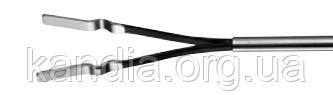 Биполярный плоский электрод-пинцет лапароскопический