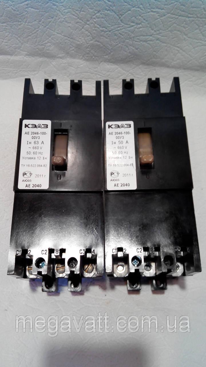 Автоматический выключатель АЕ 2056 25 А - МегаВатт-Прибор в Киеве