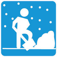 Відкидання, чищення снігу Рівне.