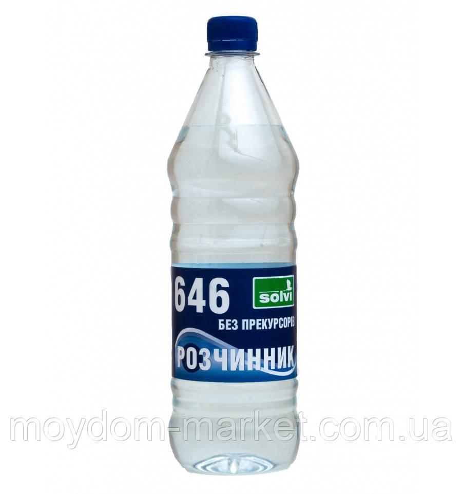 """Розчинник Р-646 БП 0,8л """"Solvi"""""""