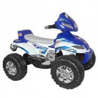 Товар Квадроцикл M 0417-4.,мотор 6V/20W, 6V/4,5A, свет, муз, синий.,83-57-62см.