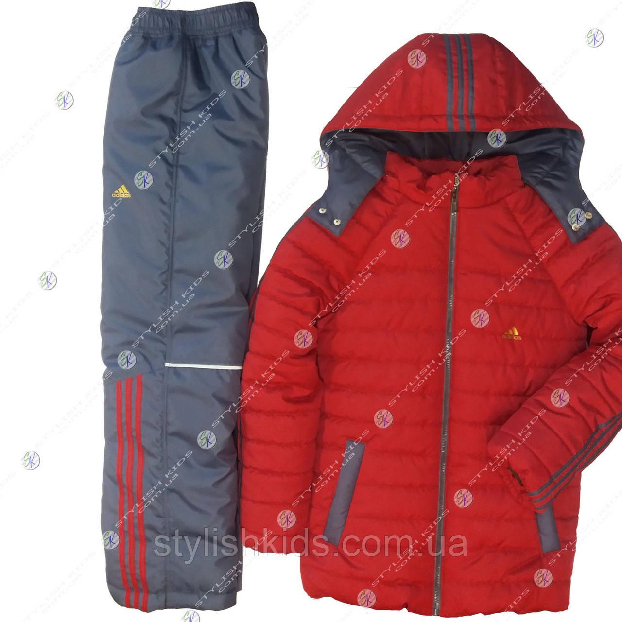 Зимний костюм адидас подростковый 128р-158р в интернет магазине.Купить  зимний спортивный костюм . bc2318f8f8b