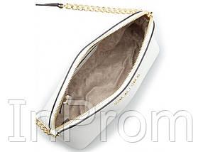 Сумка Michael Kors Cindy Crossbody Bag White, фото 2