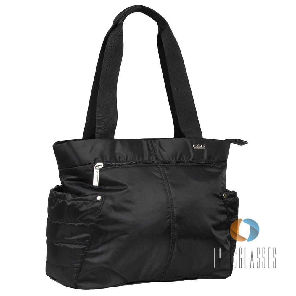 Черная женская сумка Dolly 010