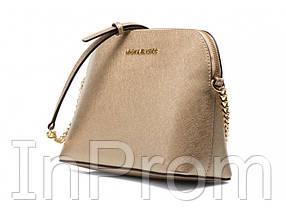 Сумка Michael Kors Cindy Crossbody Bag Gold, фото 2