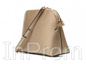 Сумка Michael Kors Cindy Crossbody Bag Gold, фото 3