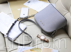 Сумка Michael Kors Cindy Crossbody Bag Gray, фото 2