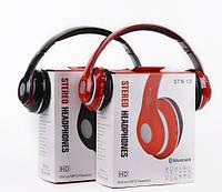 Беспроводные наушники  STN-13 BL MP3+FM
