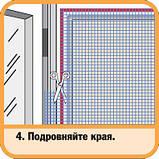 Москітна сітка + кріплення, 140х150см, крепл.сер.5,8 м, фото 5