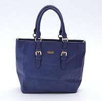 Яркая стильная женская сумка синяя