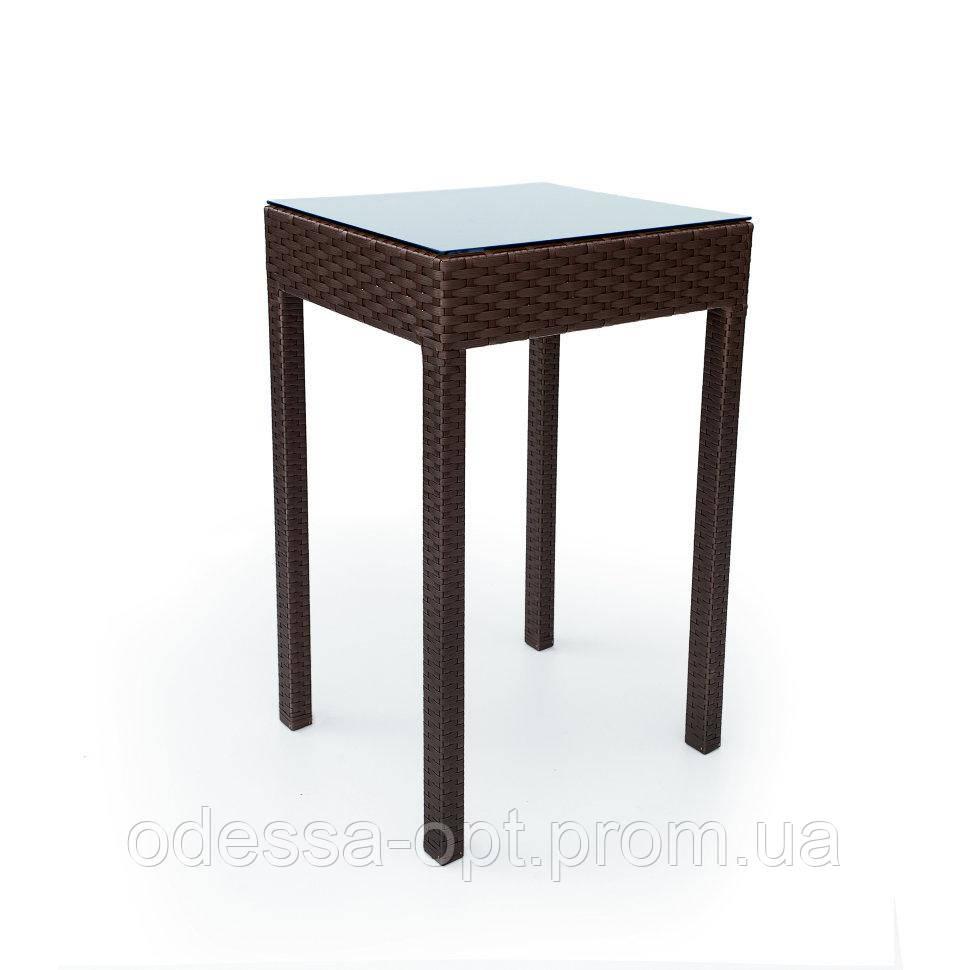 Стол из техноротанга