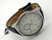 Часы мужские Guardo - Nardin,  Made in Italy, цвет серебро, черный ремешок