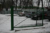 Забор Казачка с полимерным покрытием 2м*2,5м*4мм