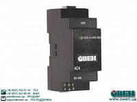 Автоматический преобразователь интерфейсов USB/RS-485 ОВЕН АС4