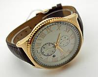 Часы мужские Guardo - Nardin,  Made in Italy, цвет золото, черный ремешок