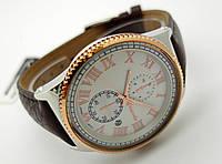 Часы мужские Guardo - Nardin,  Made in Italy, цвет серебро с золотом, черный ремешок