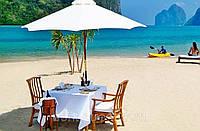 Зонт  для кафе, пляжа 2,5м