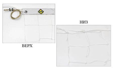 Сітка для волейболу вузлова з тросом (р-н 9,5х1м, осередок 10х10см) SO-5264, фото 2