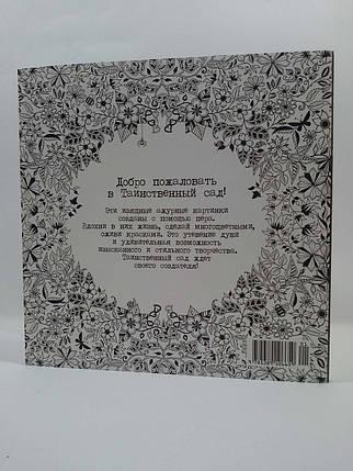 Колибри Бэсфорд Таинственный сад (мягк) Книга для творчества и вдохновения Басфорд Чарівний сад, фото 2