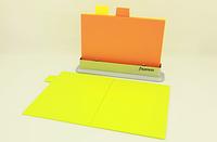 Набор из 3 - х пластиковых складных разделочных досок 33 x 25 см + подставка Fissman (AY-7237.CB)