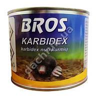 Брос Karbidex от кротов, 500г