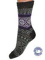 Женские шерстяные носки (Темно серый)