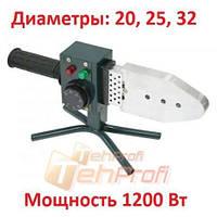Паяльник для пластиковых труб ТЕМП ППТ-1200 (Насадки 20, 25, 32мм)