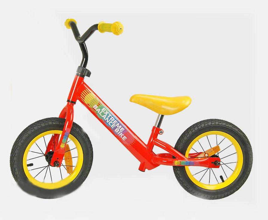 Велобег , беговел Extreme Balance Bike 12'' BB004 красный
