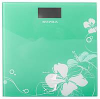 Весы напольные электронные supra bss 2020 green