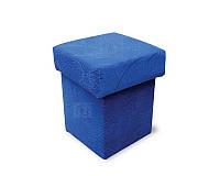 Пуфик мебельный 39х39х42 см. Квадратнаясидушка, Ткань на выбор
