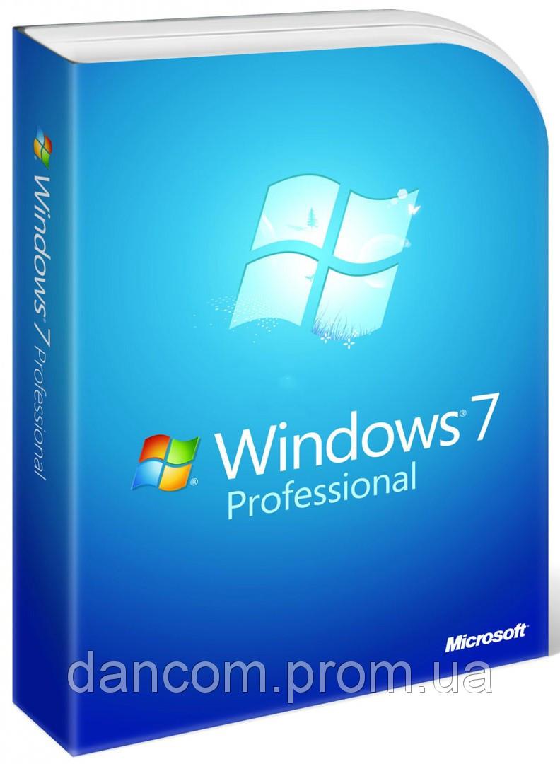 Windows 7 Professional Russian DVD BOX (FQC-00265) повреждення упаковка!