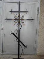Хрест на кладбище